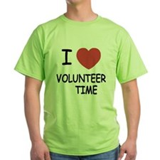 I heart volunteer time T-Shirt