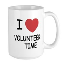 I heart volunteer time Mug