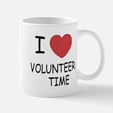 I heart volunteer time Mug