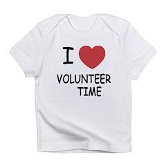 I heart volunteer time Infant T-Shirt