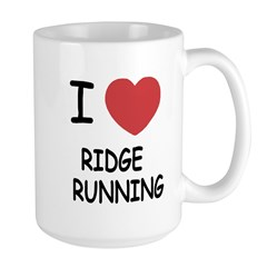 I heart ridge running Mug