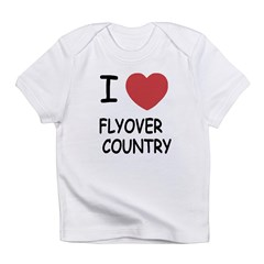 I heart flyover country Infant T-Shirt