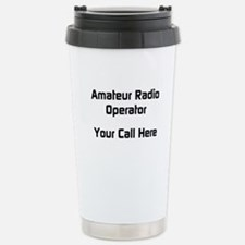 Personalized Call Sign Thermos Mug