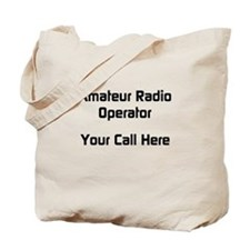 Personalized Call Sign Tote Bag