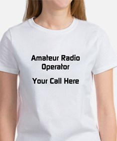 Personalized Call Sign Women's T-Shirt