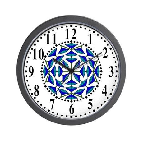 Eclectic Flower 289 Wall Clock