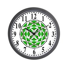 Eclectic Flower 295 Wall Clock