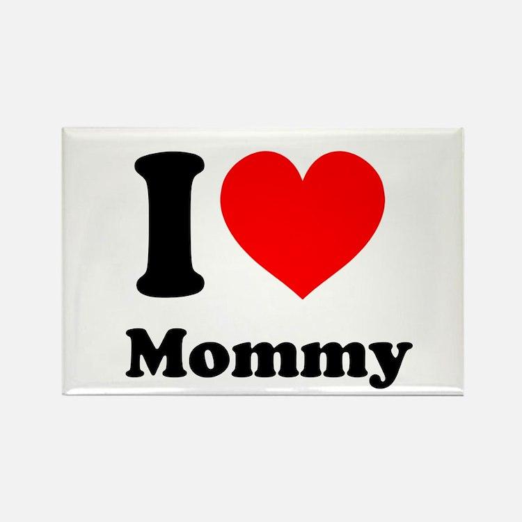 I Heart Mommy Rectangle Magnet