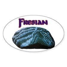 Fresian Horse Decal