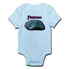 Fresian Horse Infant Bodysuit