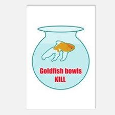 Goldfish Bowls Kill Postcards (Package of 8)