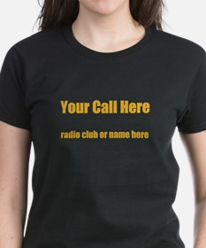 Personalized Call Sign Tee
