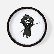 Rough Fist Wall Clock