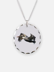 Pelican Flying Necklace