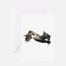 Pelican Flying Greeting Cards (Pk of 10)