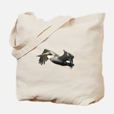 Pelican Flying Tote Bag