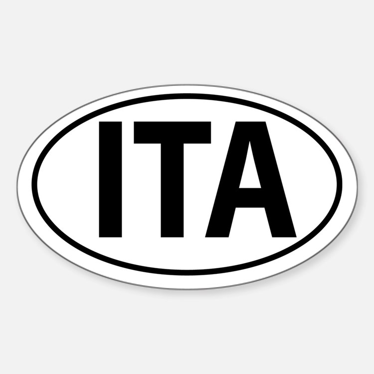 ITA - Italy Sticker (Oval)