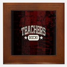 Unique Teacher inspiration Framed Tile