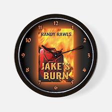 Unique Arson investigator Wall Clock