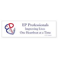 EP Electrophysiology WPW to Sinus Rhythm Bumper Sticker
