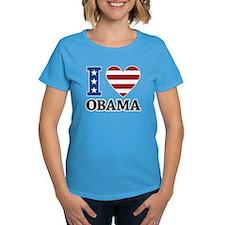 I Love Obama Tee