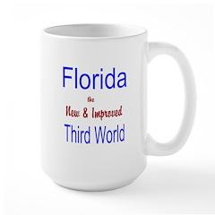 Florida 3rd World Large Mug