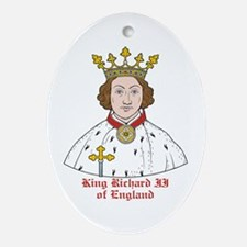 King Richard II  Oval Ornament