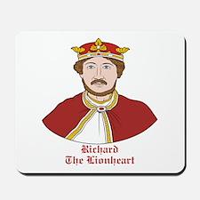 Richard the Lionheart Mousepad
