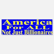 America For All Sticker (Bumper)