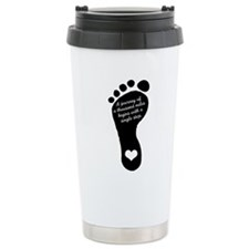 A journey of a thousand miles Travel Mug