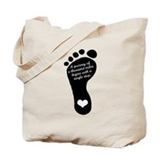 A journey of a thousand miles Tote Bag
