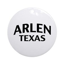 Arlen Texas Ornament (Round)