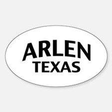 Arlen Texas Decal