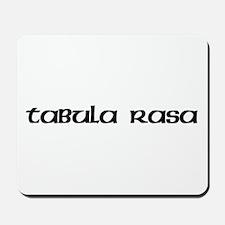Tabula Rasa Mousepad