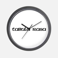 Tabula Rasa Wall Clock