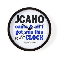 JCAHO Came Wall Clock