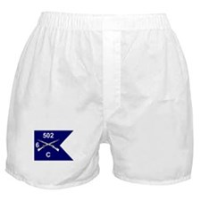 C Co. 6/502nd Boxer Shorts