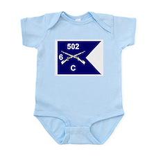 C Co. 6/502nd Infant Creeper