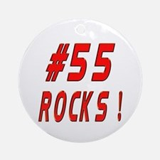 55 Rocks ! Ornament (Round)