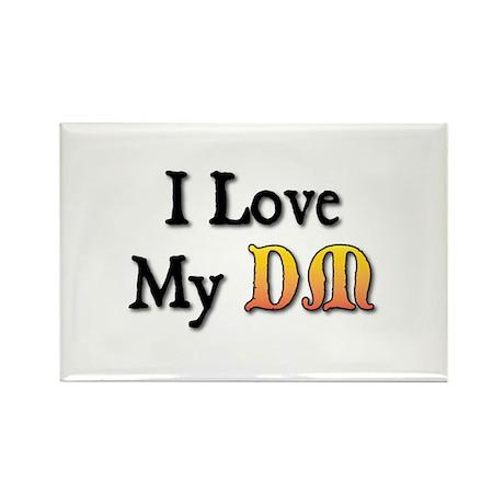 I Love My DM Rectangle Magnet (100 pack)