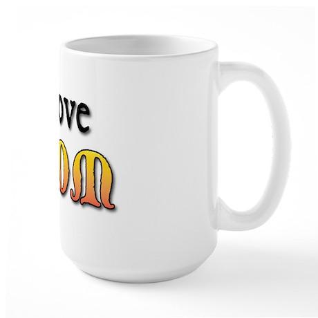 I Love My DM Large Mug