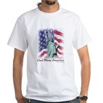 Statue of Liberty t-shirt--white