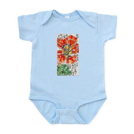 Red flower Infant Creeper