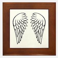 Angel wings Framed Tile