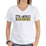 0534 - Can you fly float ... Women's V-Neck T-Shir