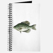 Black Crappie Fish Journal