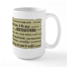 Quotes About Books Ceramic Mugs