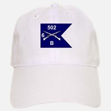 B Co. 6/502nd Baseball Baseball Cap