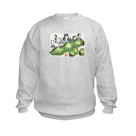 Soramame Beans Kids Sweatshirt