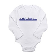 Umbrella Days Long Sleeve Infant Bodysuit